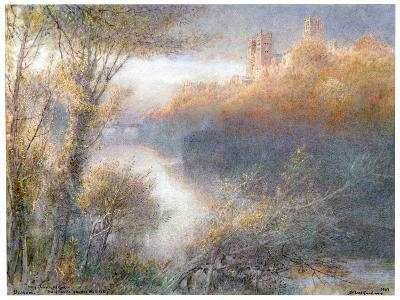 Durham Cathedral, 1903-Albert Goodwin-Giclee Print