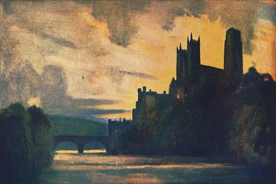 'Durham Cathedral', 1912-Unknown-Giclee Print
