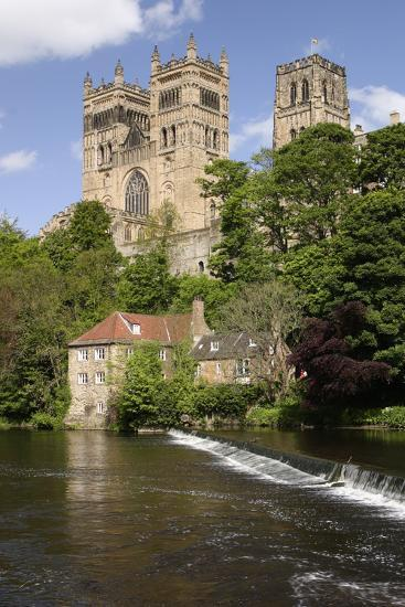 Durham Cathedral and Mill-Peter Thompson-Photographic Print