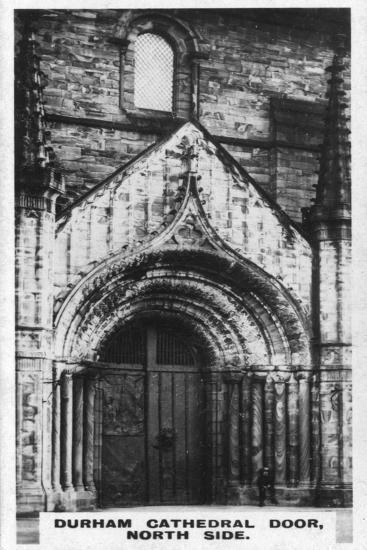 Durham Cathedral Door, North Side, C1920S--Giclee Print