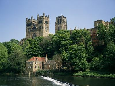 Durham Cathedral, Unesco World Heritage Site, Durham, County Durham, England, United Kingdom-Charles Bowman-Photographic Print