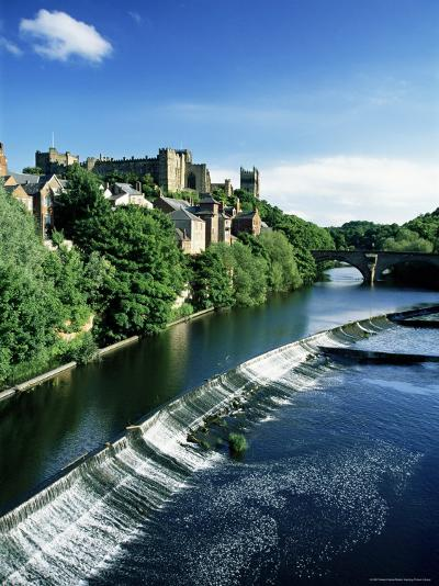 Durham Centre and River Wear, Durham, County Durham, England, United Kingdom-Neale Clarke-Photographic Print