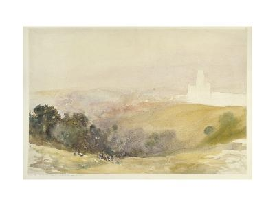 Durham from the Red Hills, 1880-86-Alfred William Hunt-Giclee Print