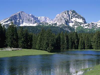 Durmitor Mountain Range, Near Zabljak, Durmitor National Park, UNESCO World Heritage Site, Tramonta-Stuart Black-Photographic Print