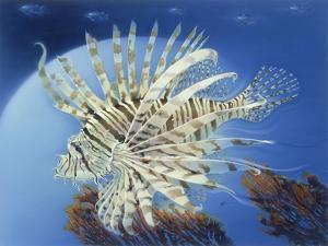 Lion Fish by Durwood Coffey