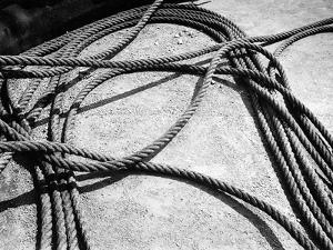 Ship Cords by Dusan Stanimirovitch