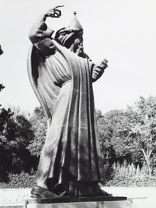 Statue of a Saint in Split by Dusan Stanimirovitch