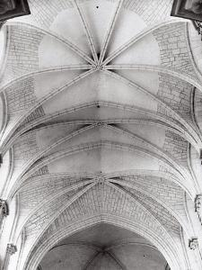The Sails of the Ceiling of the Church of Saint-Madeleine in Vezelay by Dusan Stanimirovitch