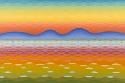 Dusk at Lake Balaton, 1991-Emil Parrag-Giclee Print