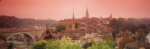 Dusk Bern Switzerland