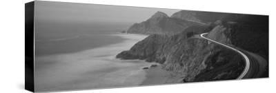 Dusk Highway 1 Pacific Coast Ca USA