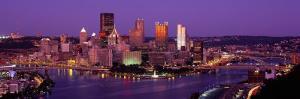 Dusk Pittsburgh Pa, USA