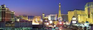 Dusk, the Strip, Las Vegas, Nevada, USA