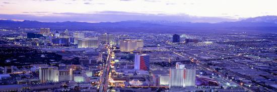 Dusk the Strip Las Vegas Nv, USA--Photographic Print