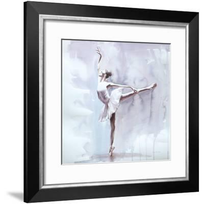 Dusky Arabesque-Aimee Del Valle-Framed Art Print