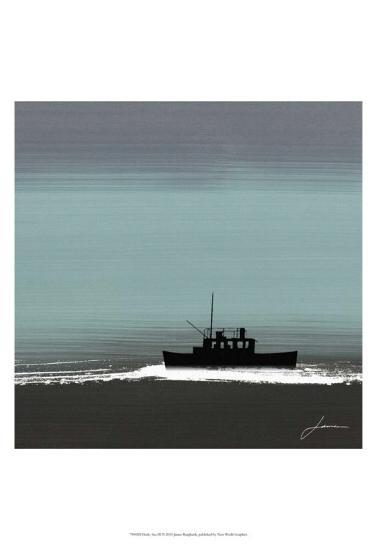 Dusky Sea III-James Burghardt-Art Print