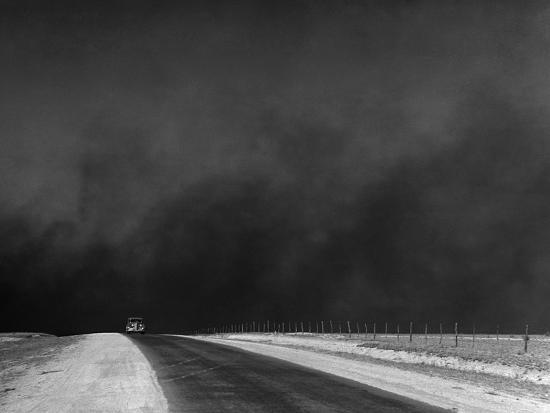 Dust Bowl, 1936-Arthur Rothstein-Photographic Print