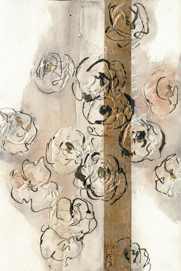 Dusted Gold Panel II-Chris Paschke-Art Print