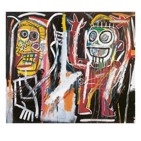 Dustheads, 1982-Jean-Michel Basquiat-Giclee Print