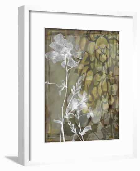 Dusty Garden II-Jennifer Goldberger-Framed Premium Giclee Print