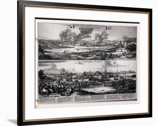 Dutch Attack on the River Medway 20th and 21st June 1667-Romeyn De Hooghe-Framed Giclee Print