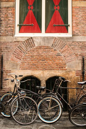 Dutch Bicyles-Erin Berzel-Photographic Print