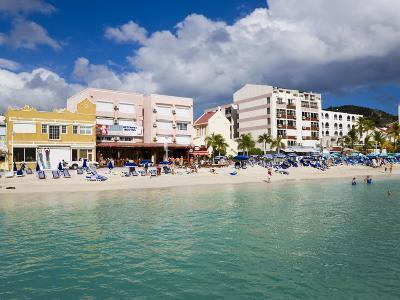 Dutch Capital of Philipsburg, St. Maarten, Netherlands Antilles, Leeward Islands, West Indies-Gavin Hellier-Photographic Print