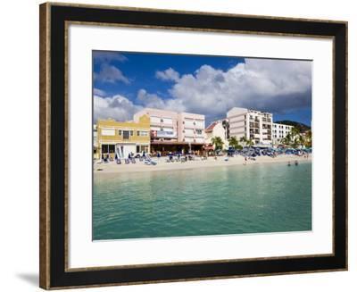 Dutch Capital of Philipsburg, St. Maarten, Netherlands Antilles, Leeward Islands, West Indies-Gavin Hellier-Framed Photographic Print