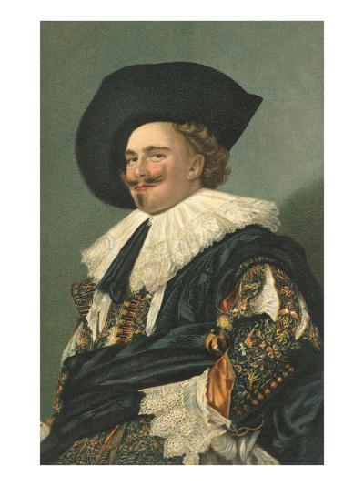 Dutch Cavalier--Art Print