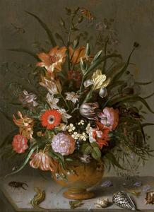 Jacob Marrel, Flowers in a vase by Dutch Florals