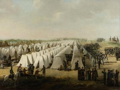The Army Camp at Rijen, 1831-5