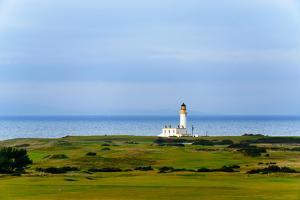 Tunberry Lighthouse in Scotland, UK by Dutourdumonde