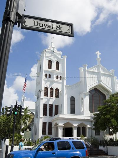 Duval Street, Key West, Florida, USA-R H Productions-Photographic Print