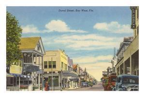 Duvat Street, Key West, Florida