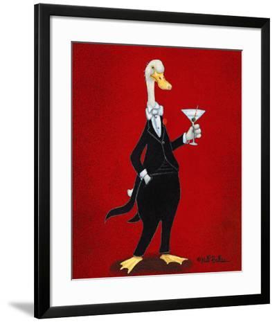 Duxedo-Will Bullas-Framed Giclee Print