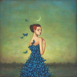 Metamorphosis in Blue by Duy Huynh