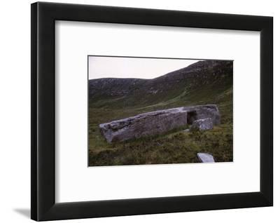 Dwarfie Stone, Isle of Hoy, Orkney, Scotland, 20th century-CM Dixon-Framed Photographic Print