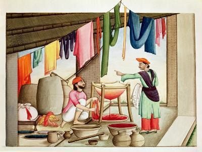 Dyer in India--Giclee Print