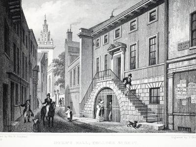 Dyer's Hall-Thomas Hosmer Shepherd-Giclee Print
