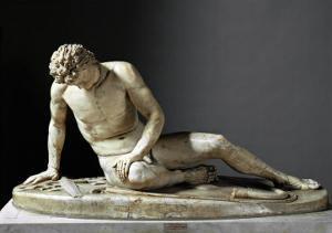 Dying Gaul, Roman Marble Copy of a Hellenistic Original of 230-220 BCE