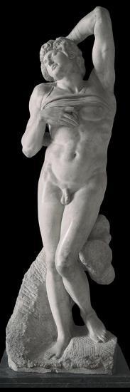 Dying Slave-Michelangelo Buonarroti-Photo
