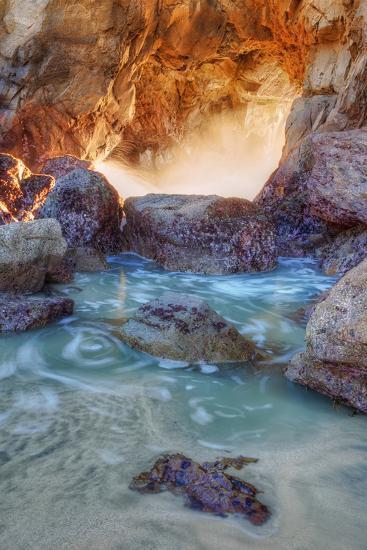 Dynamic Cove - Big Sur-Vincent James-Photographic Print