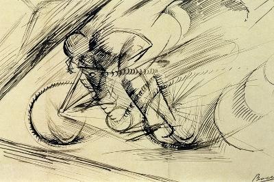 Dynamism of a Cyclist, 1913-Umberto Boccioni-Giclee Print