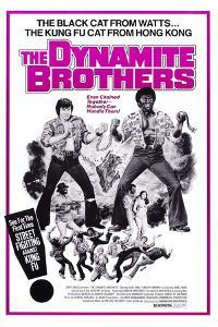 Dynamite Brothers, from Left: Alan Tang, Timothy Brown, 1974
