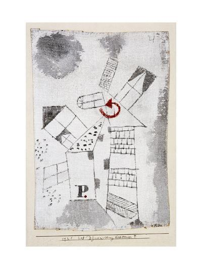 Dynamization of Houses P.-Paul Klee-Giclee Print