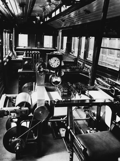 Dynamometer Car--Photographic Print