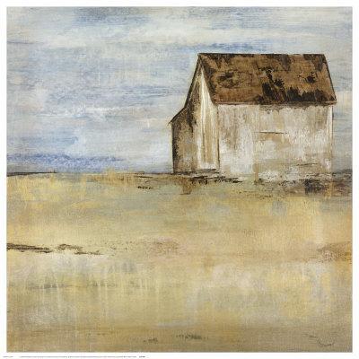 Barn and Field I