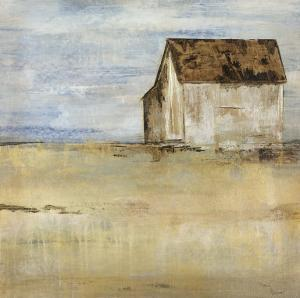 Barn and Field I by Dysart