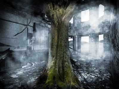 Dystopia, Conceptual Artwork-Victor Habbick-Photographic Print