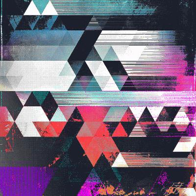 Dythyr Dysystyr-Spires-Art Print